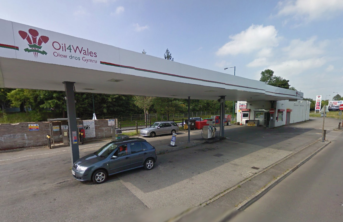 oil petrol station supplier Wales